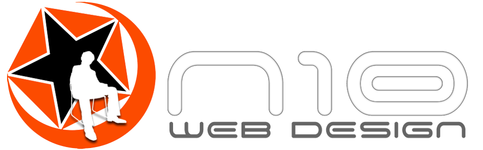 N10 web design logo