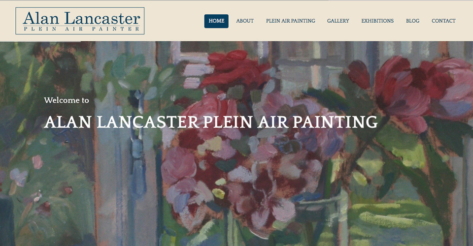 Alan Lancaster Plein air Painter website