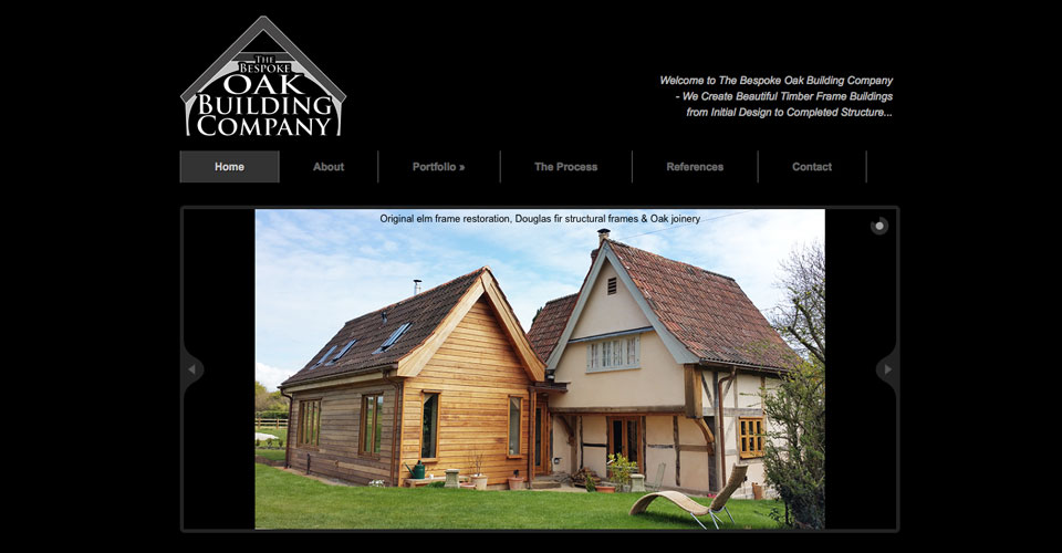 Bespoke Oak Building company based in Wiltshire