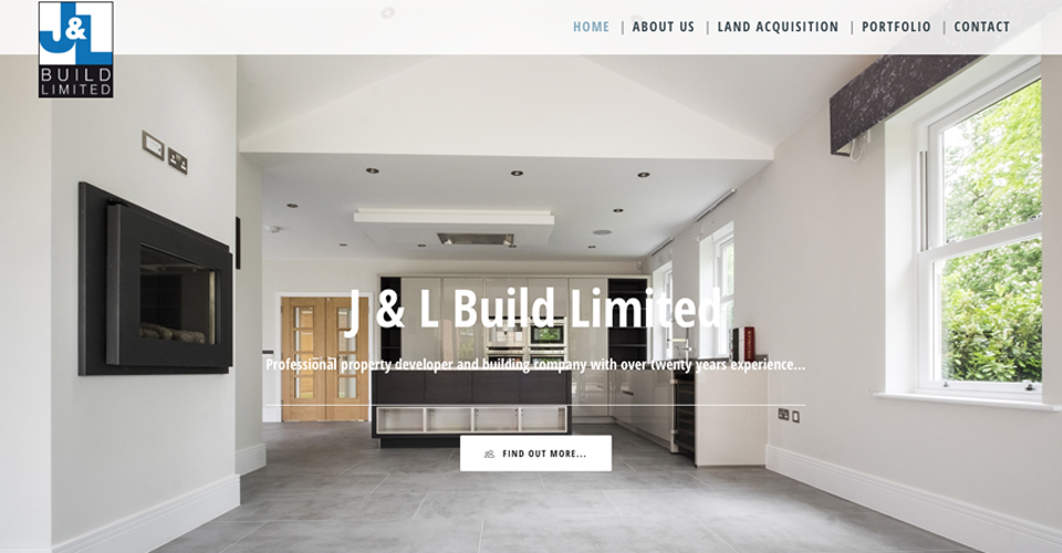 J and L building contractor website